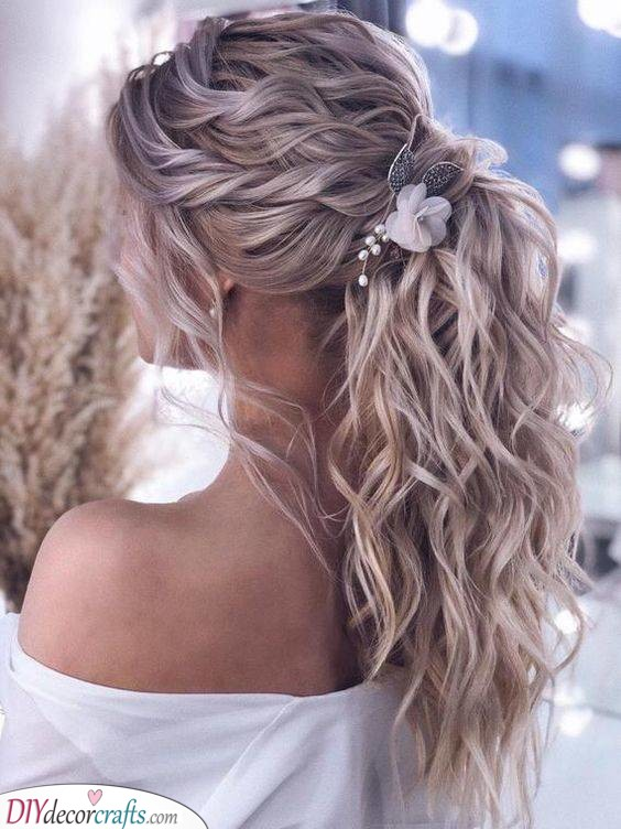 A Beautiful Ponytail - A Fancy Look