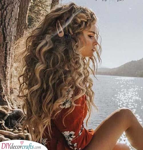 Beach Curls - Exotic and Gorgeous