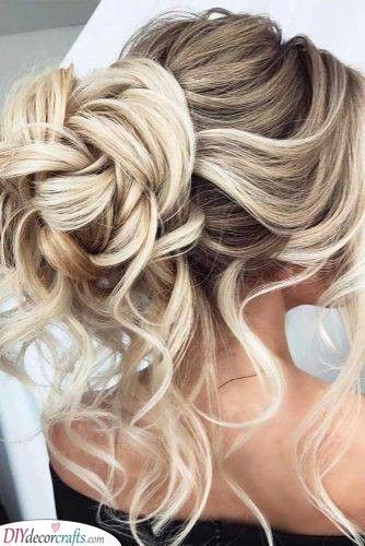 A Brilliant Updo - Out of Curls