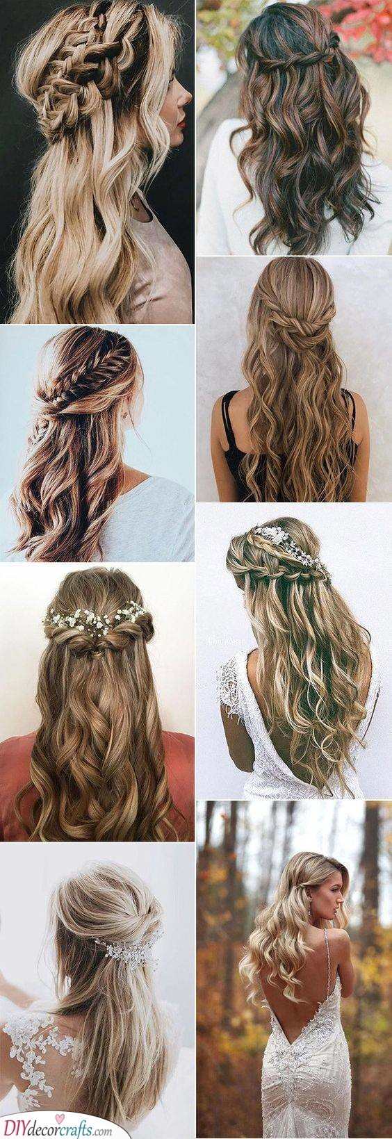 Beautiful Braids - Curly Hairstyles for Long Hair