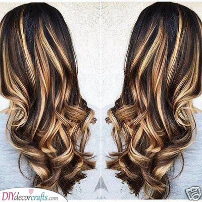 Add Some Highlights - Curly Hairstyles for Long Hair