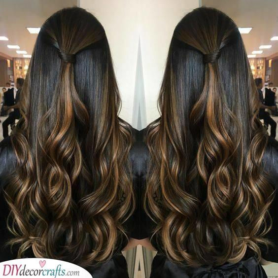 Elegant and Sheek - Curls for Days