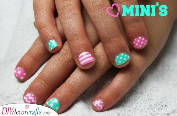 All Sorts of Patterns - Cute Nails for Kids