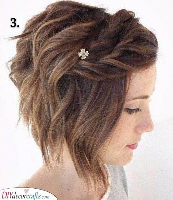 A Few Easy Braids - Cute Hairstyles for Short Curly Hair
