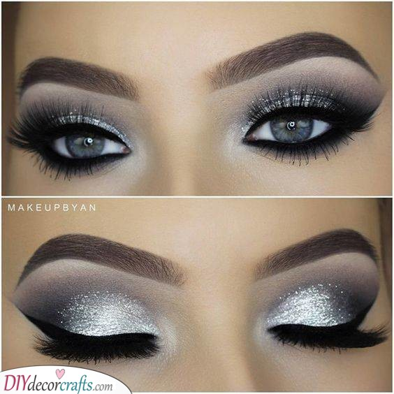 Silver Brilliance - Make Your Eyes Look Bigger