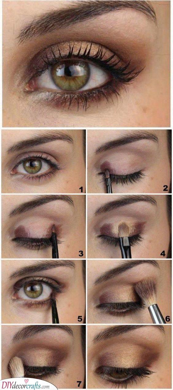 Perfect for Hazel Eyes - How to Do Smokey Eye Makeup