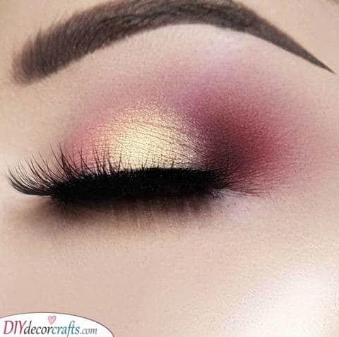 A Magical Glow - Peachy Smokey Eye Look
