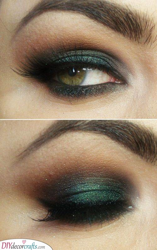 Intricate and Stunning - Dark Shades of Green