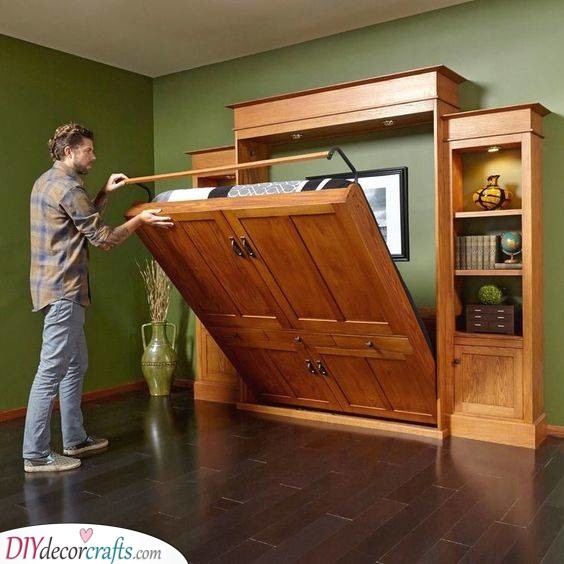 An Awesome Murphy Bed - Great Idea