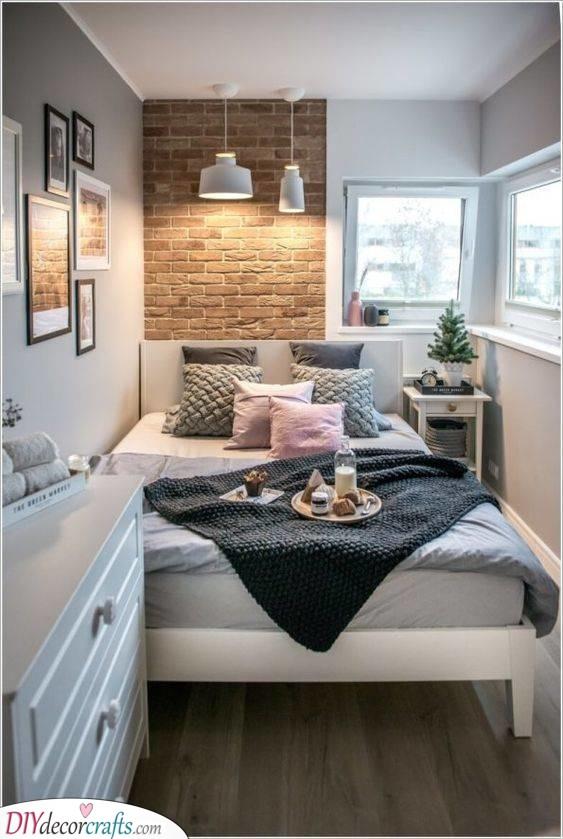 Stylish and Pretty - Small Bedroom Design Ideas