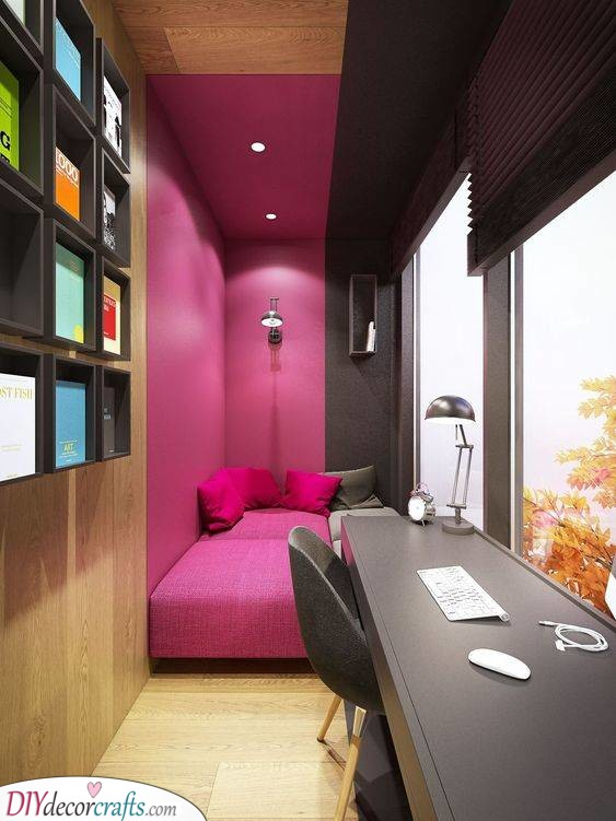 A Divide of Colours - Interesting Colour Ideas