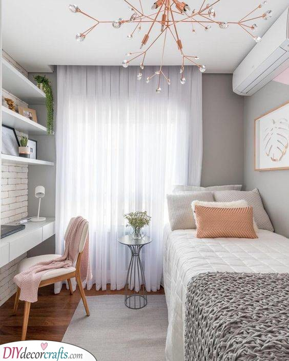 Gorgeous and Simplistic - A Lovely Bedroom