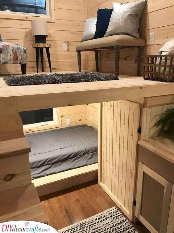 An Innovative Idea - Loft With Stairs