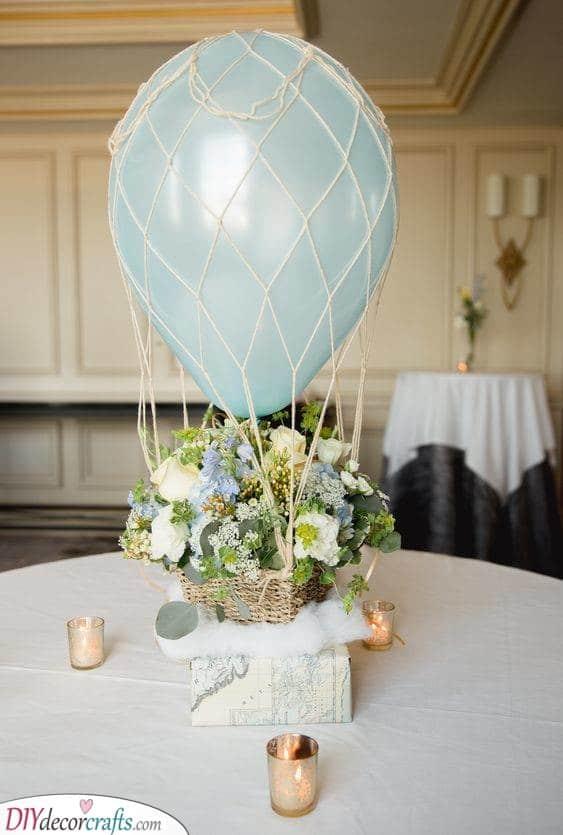 A Hot Air Balloon - Cute Ideas