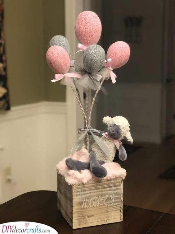 Baby Sheep - The Best Table Decorations
