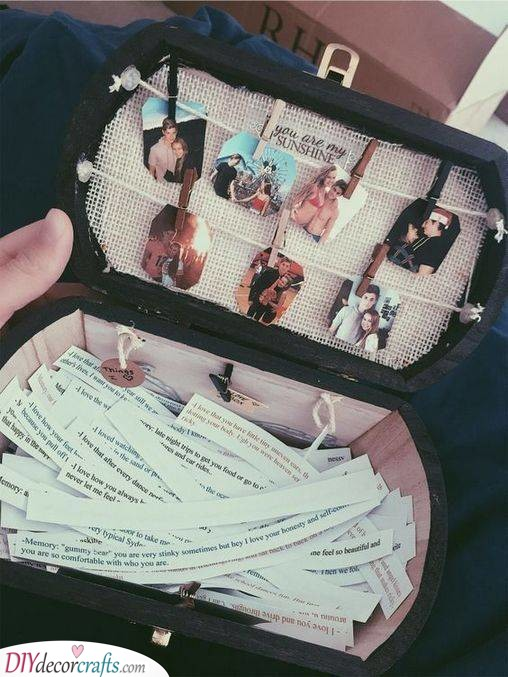 A Box of Memories - Creative Birthday Gifts for Boyfriends
