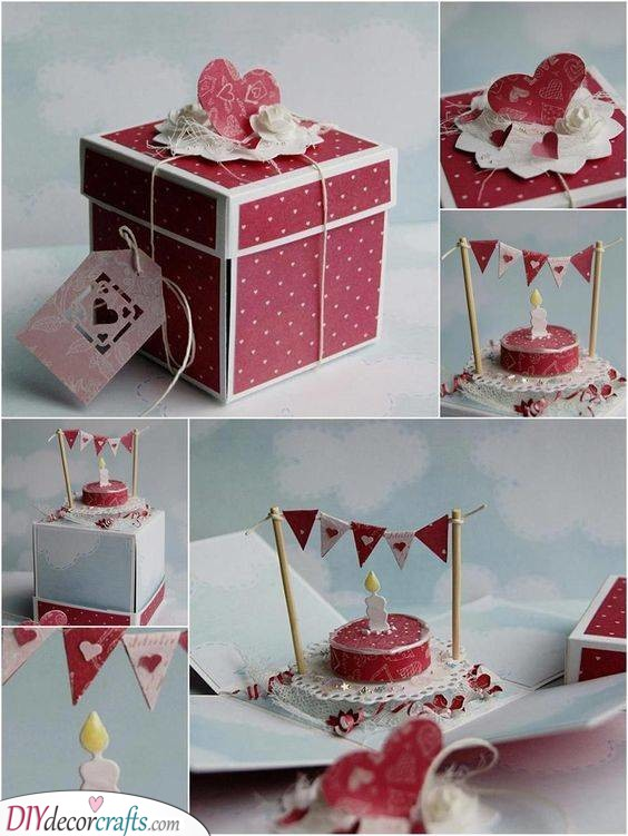 Paper Cake - Cute Birthday Gift for Girlfriend