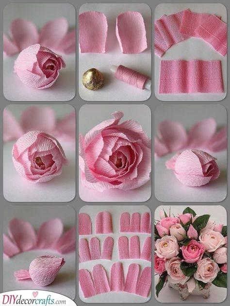 Paper Flowers - Birthday Gift for Girlfriend