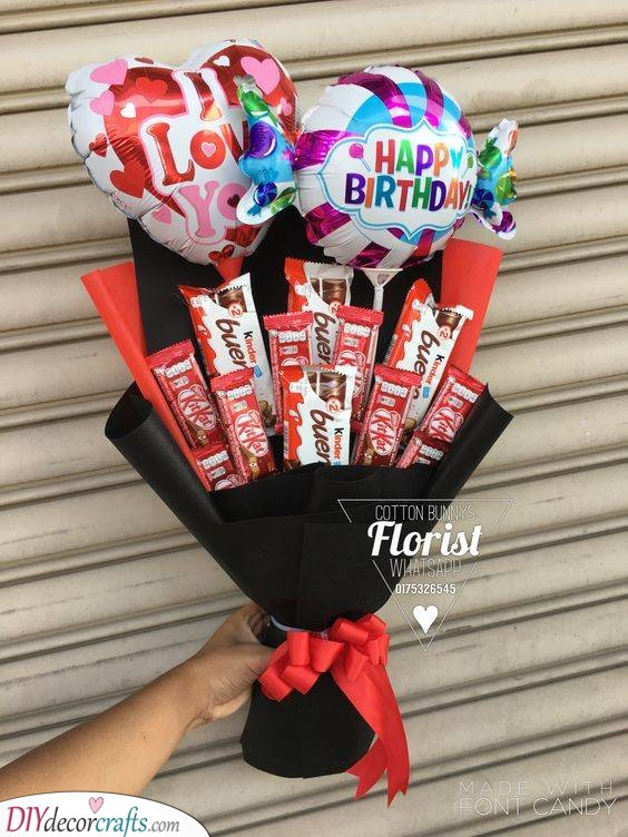 A Bouquet of Chocolate - Chocolate Over Flowers