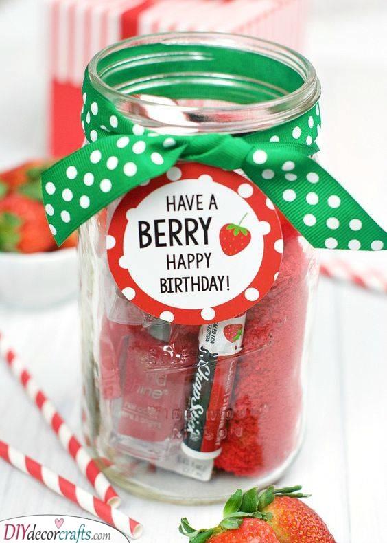 A Berry Birthday - Cute Birthday Present Ideas for Girlfriend