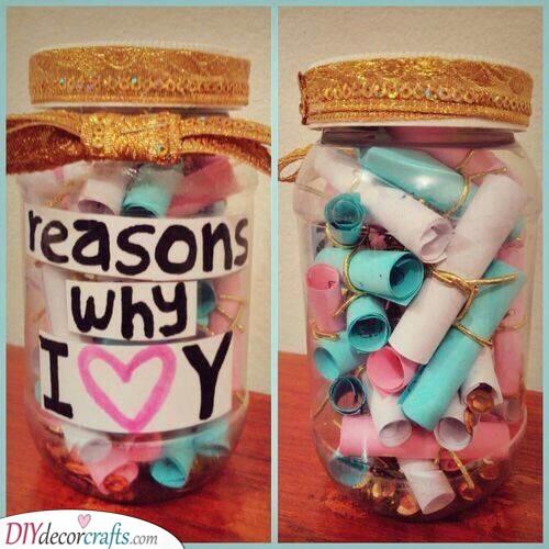 Reasons of Love - In a Jar