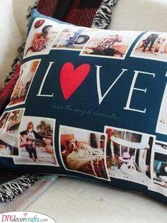 A Pillowcase - Birthday Present Ideas for Girlfriend