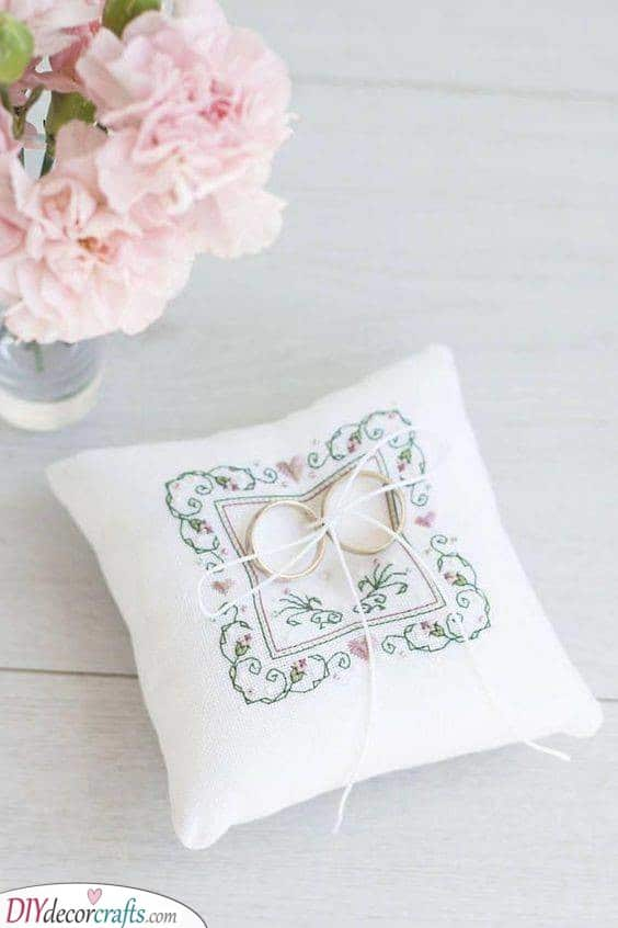 A Beautiful Pattern - For Your Wedding Ring Holder