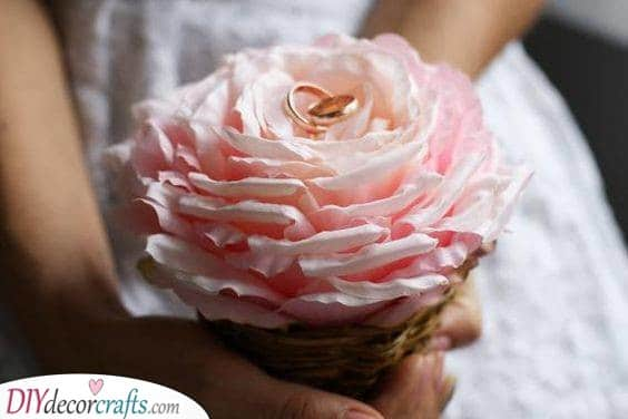 In a Rose - The Perfect Ring Bearer
