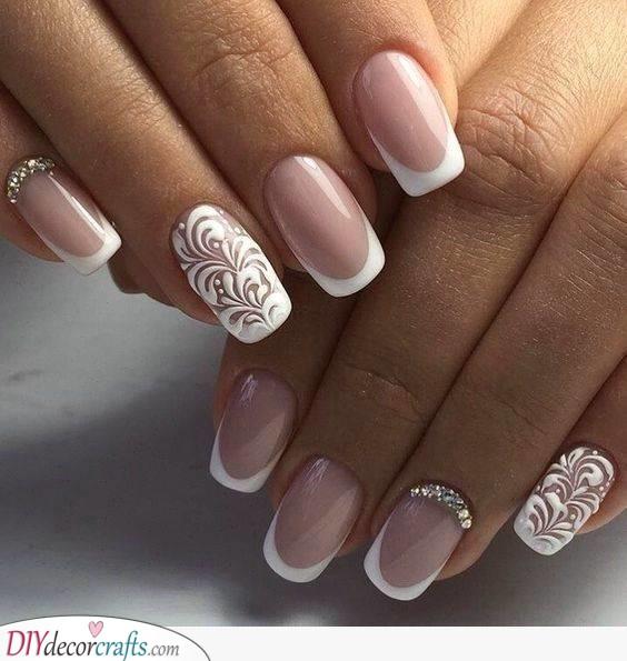 Delicate Swirls - Beautiful Nail Art