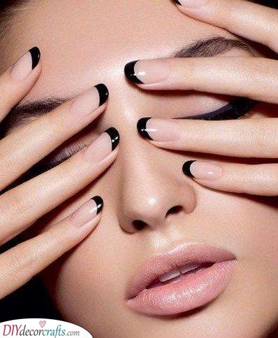 Black Tips - For an Edgy Look