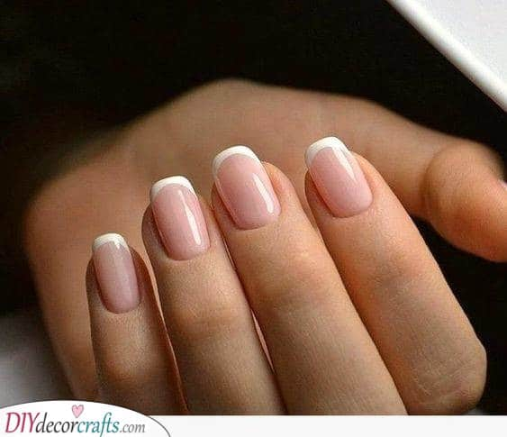 A Simple Manicure - French Manicure Ideas