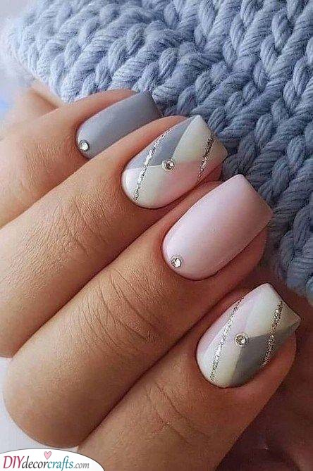 Square and Elegant - Glitter and Gems