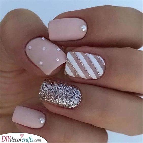 Glowing in Glitter - Sophisticated and Stunning