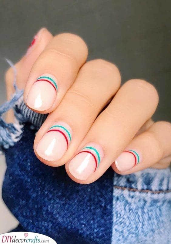 Mini Rainbow - In a Minimalist Style