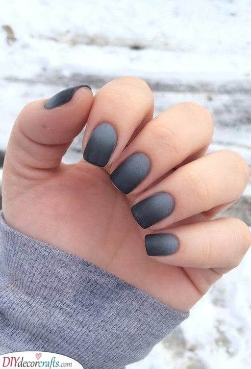 A Matte Ombre - From Light to Dark