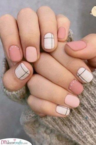 Feminine and Fashionable - Stylish Short Nail Designs