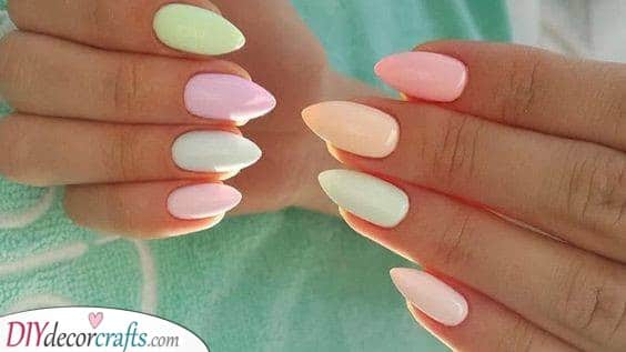 Neon Pastel Rainbow - Funky and Fun