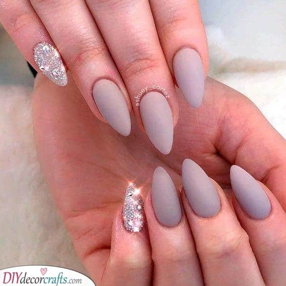 Matte and Sparkles - A Beautiful Mix