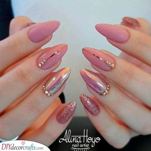 Pink and Exotic - A Fancy Design