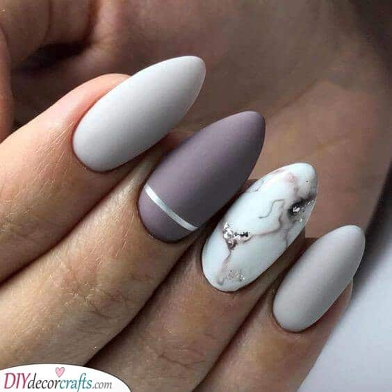 A Marble Effect - Combined With Matte