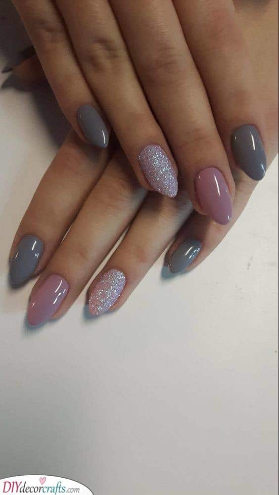 Grey and Pink - A Wonderful Combination