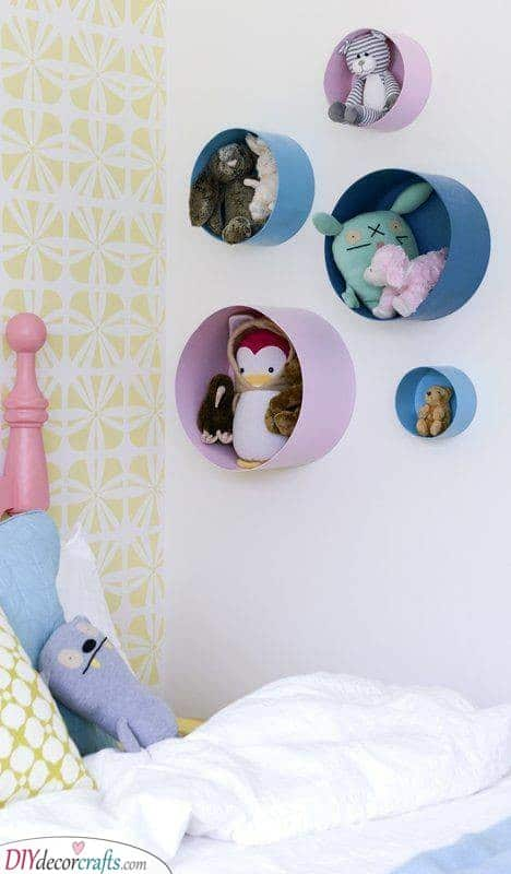 Holes for the Toys - Adorable Ideas