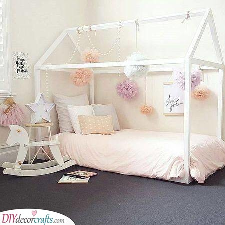Girly and Fun - Little Girl Room Ideas for Small Bedrooms