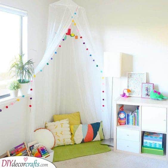 A Play Canopy - Friendly and Safe