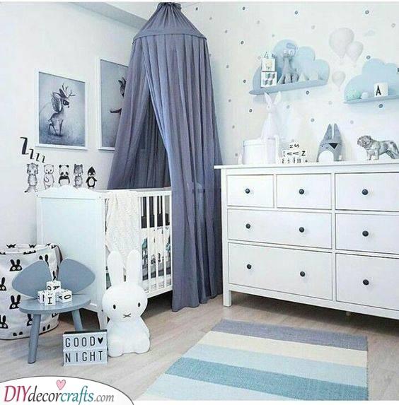 Beautiful in Blue - Children Room Ideas