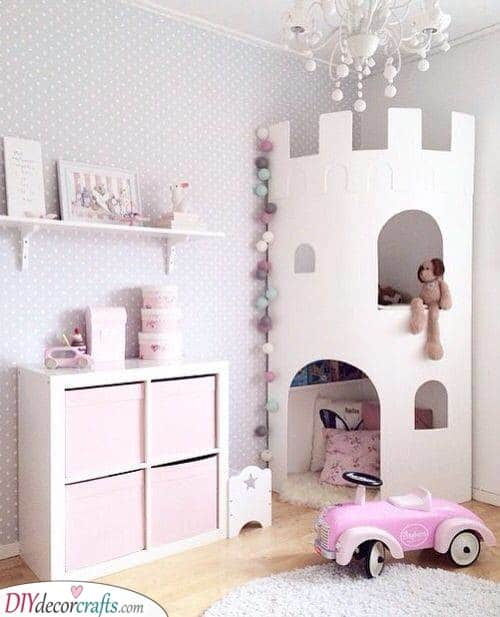 Princess in Her Castle - Baby Girl Room Decor