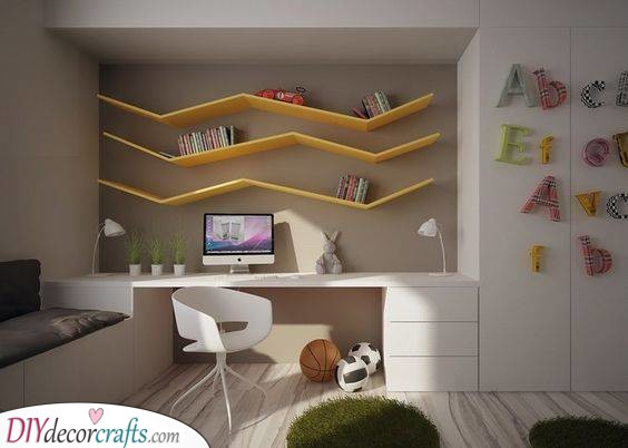 Modern and Cool - Unique Shelves