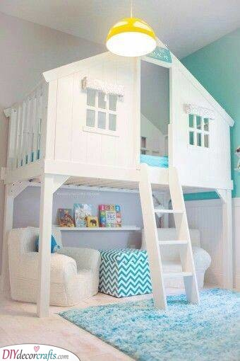 A Cubby House - A Fantastic Sleeping Spot