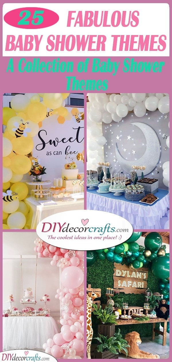 25 FABULOUS BABY SHOWER THEMES - A Collection of Baby Shower Themes