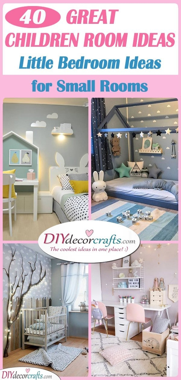 Children Room Ideas - 40 Little Girl Bedroom Ideas for Small ...